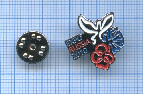 Значок «Evro Russia 2010» (вкоробочке) (Россия)
