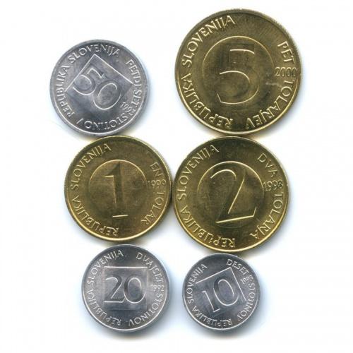Набор монет (Словения)