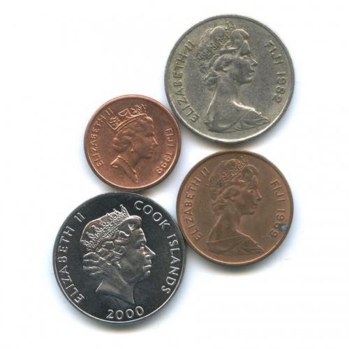 Набор монет (Фиджи, Острова Кука)
