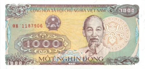 1000 донгов 1988 года (Вьетнам)