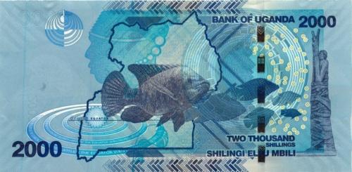 2000 шиллингов 2010 года (Уганда)
