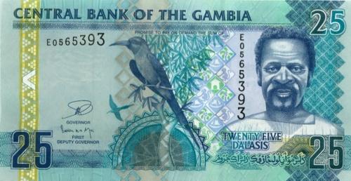 25 даласи (Гамбия) 2012 года