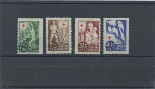 Набор почтовых марок (Финляндия)