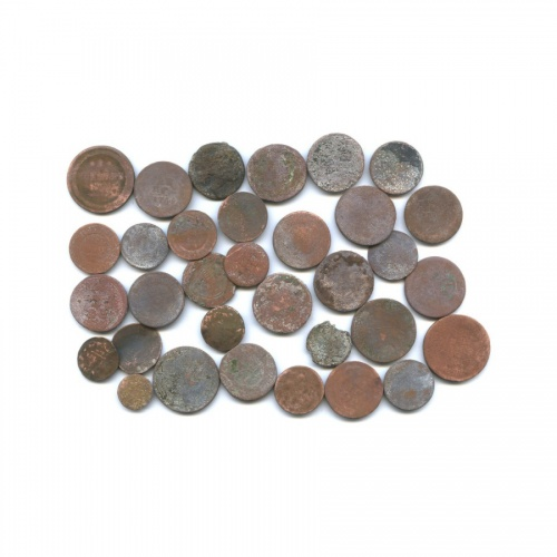 Набор монет Российской Империи (33 шт.) (Российская Империя)