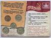 Набор монет «Маленькие деньги большого Союза» (в открытке) (СССР)