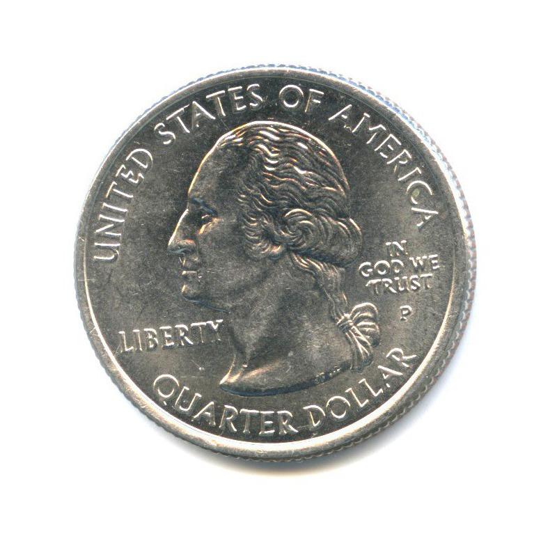 25 центов (квотер) — Квотер штата Аризона 2008 года P (США)