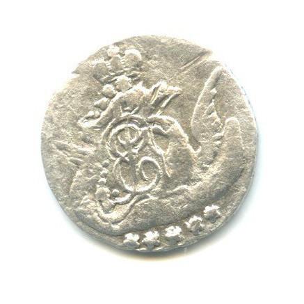 5 копеек 1758(?) СПБ (Российская Империя)