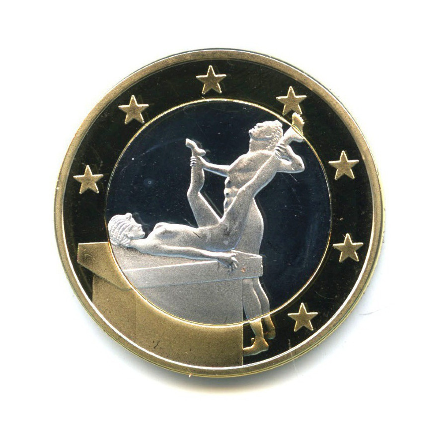 Жетон «Sex Euros - Поза 46»
