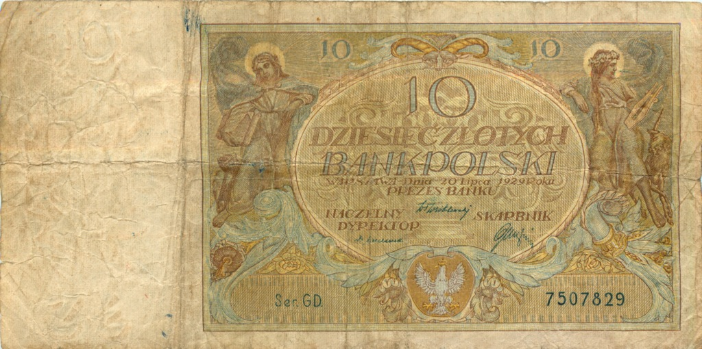 10 злотых 1929 года (Польша)