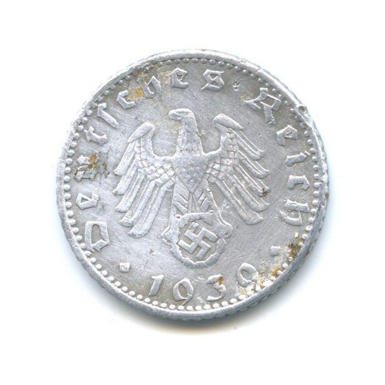 50 рейхспфеннигов 1939 года A (Германия (Третий рейх))