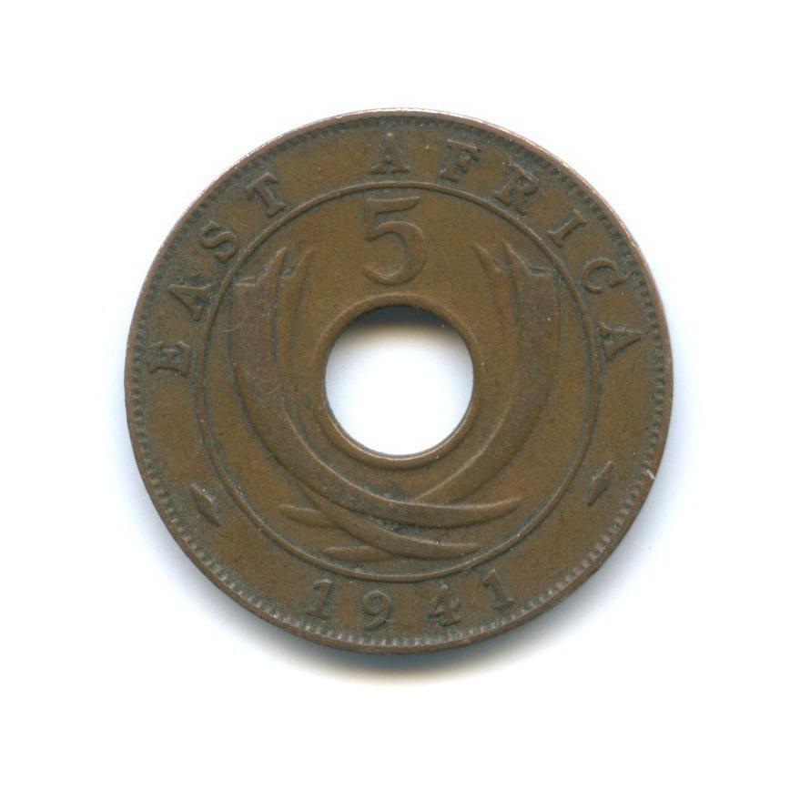 5 центов, Восточная Африка 1941 года