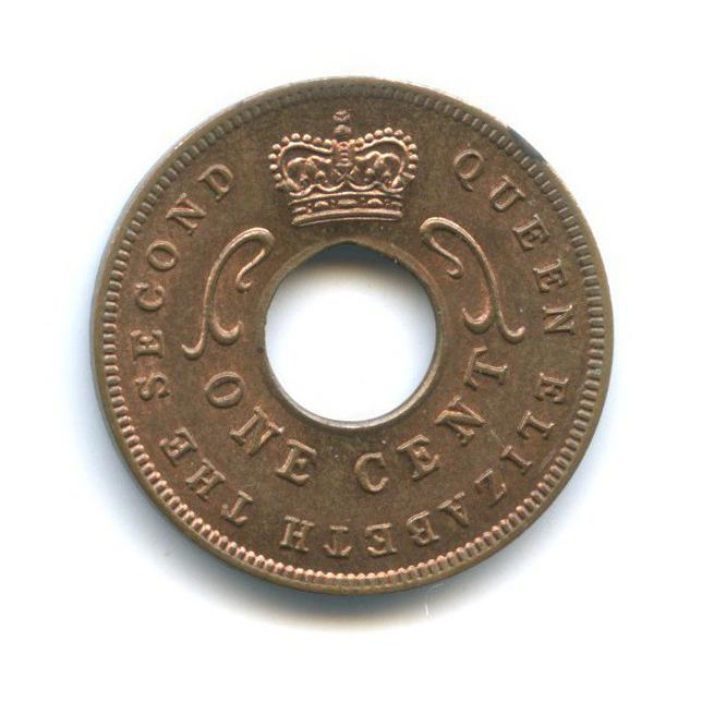 1 цент, Восточная Африка 1961 года