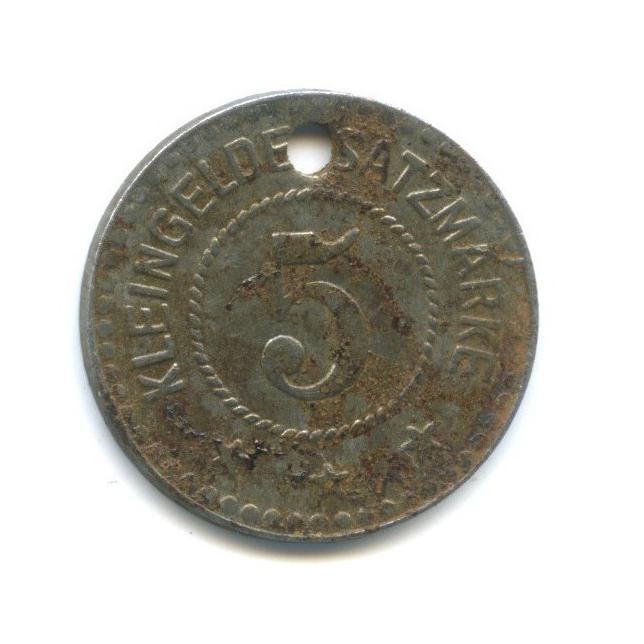 5 пфеннигов, Вайльбург (нотгельд) 1918 года (Германия)