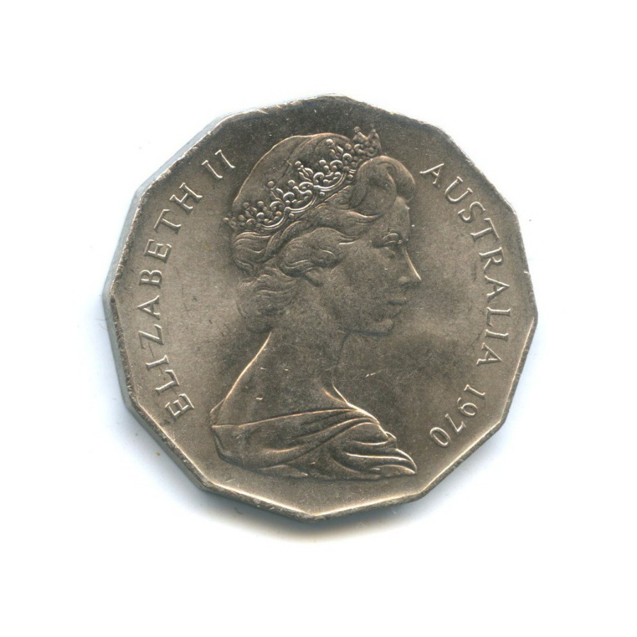 50 центов — 200 лет австралийскому путешествию капитана Кука 1970 года (Австралия)