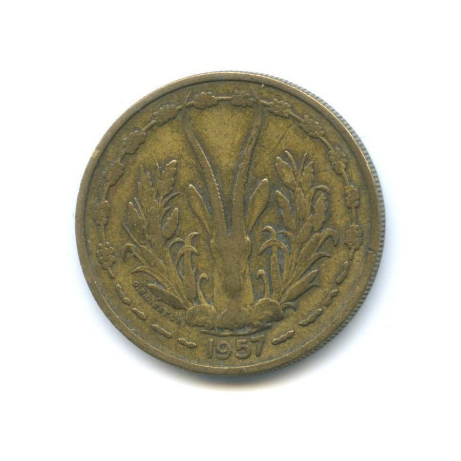 25 франков, Французская Западная Африка, Того 1957 года