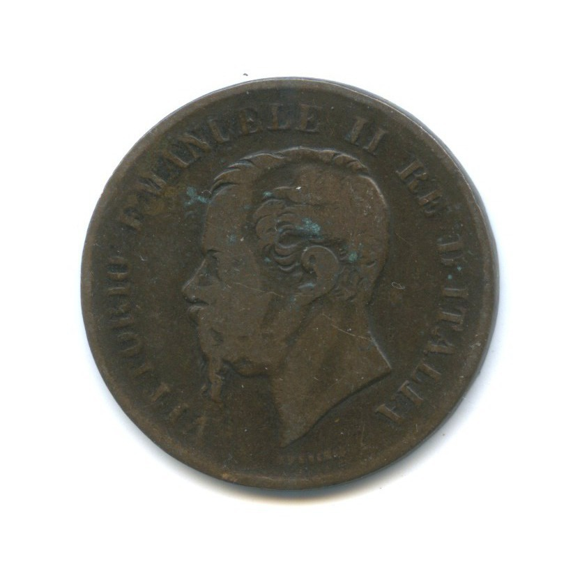 5 чентезимо - Виктор Эммануил II 1867 года (Италия)