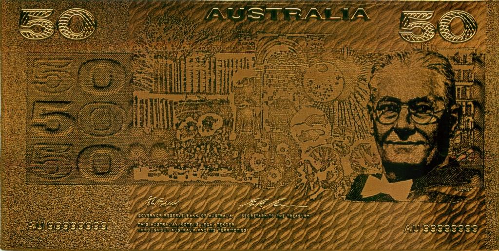 50 долларов, Австралия (сувенирная)