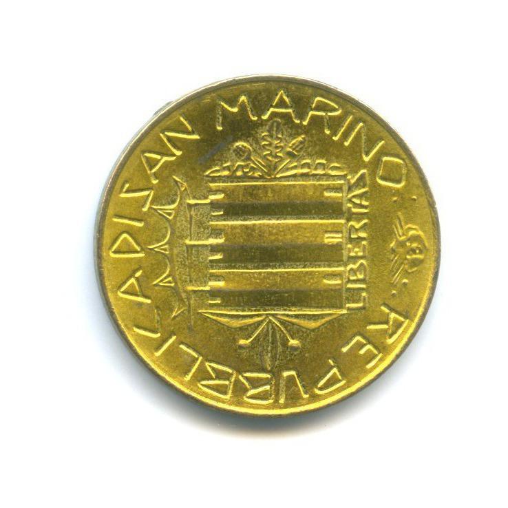 20 лир - Борьба снаркотиками 1985 года (Сан-Марино)
