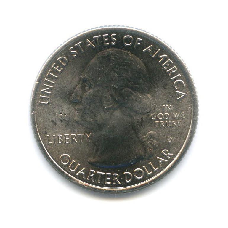 25 центов (квотер) — Национальный парк Грейт-Бейсин 2013 года D (США)