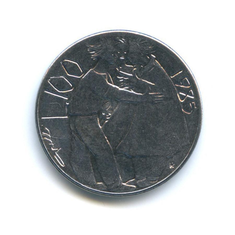 100 лир - Борьба снаркотиками 1985 года (Сан-Марино)