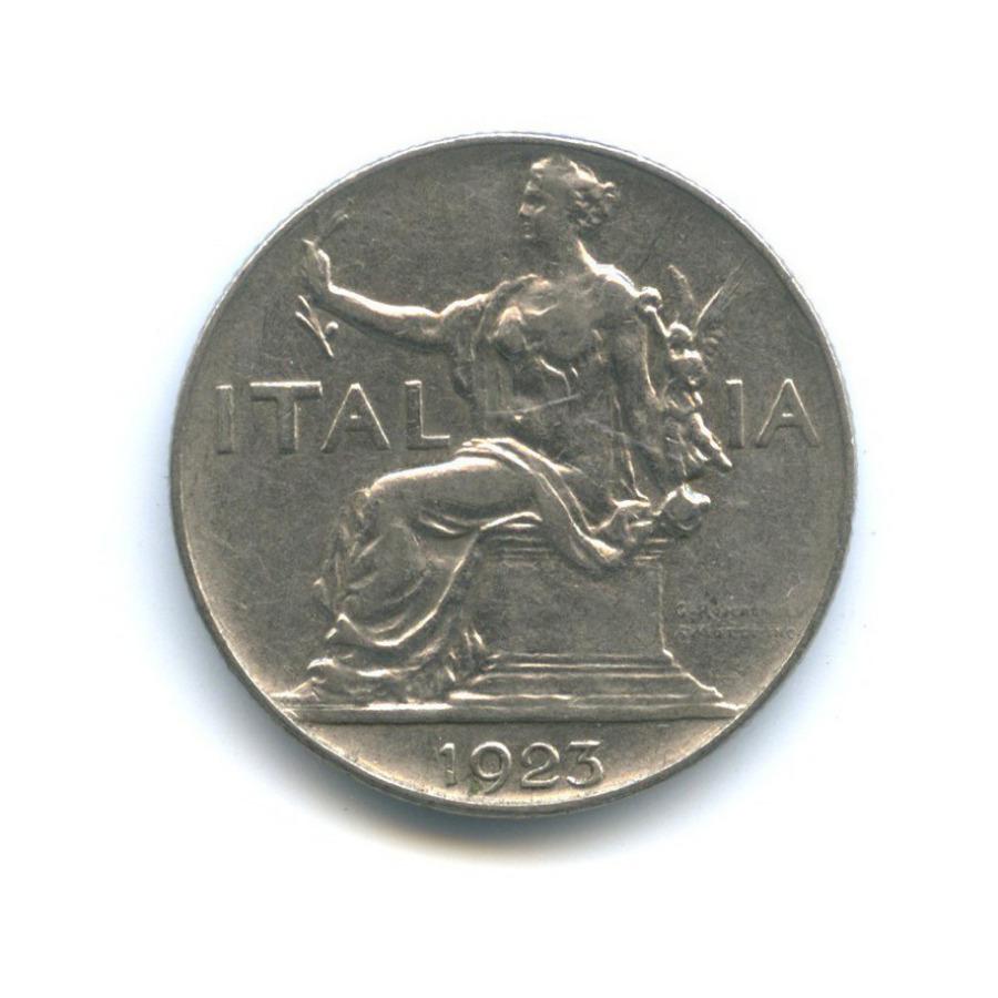 1 лира 1923 года (Италия)