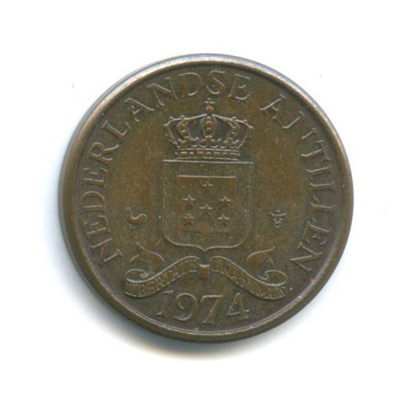 1 цент, Нидерландские Антильские острова 1974 года