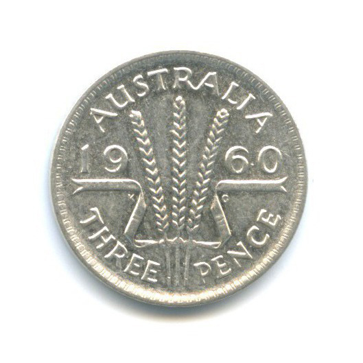 3 пенса 1960 года (Австралия)