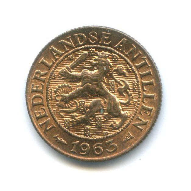 1 цент, Нидерландские Антильские острова 1963 года