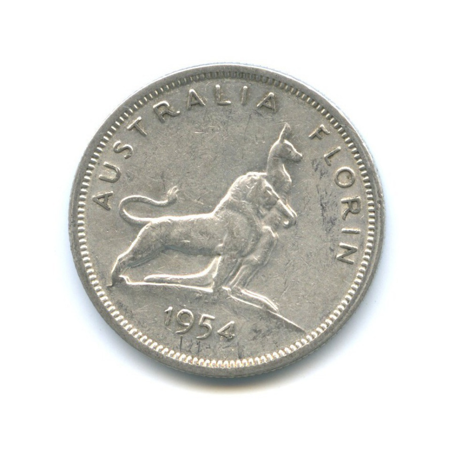 2 шиллинга (флорин) 1954 года (Австралия)