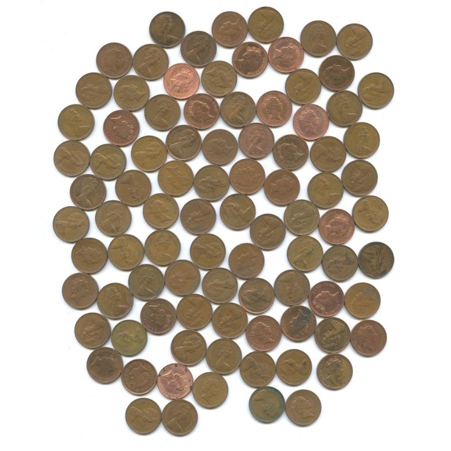 Набор монет 1 пенни (90 шт.) (Великобритания)