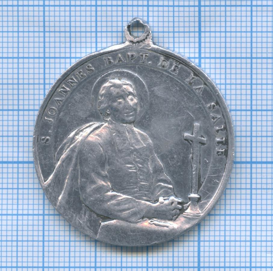 Медаль «Жан Батист деЛаСалль (1651-1719)» (Франция)