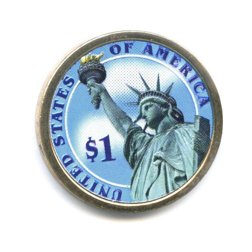 1 доллар — 9-ый Президент США - Уильям Генри Гаррисон (1841) 2009 года P (США)