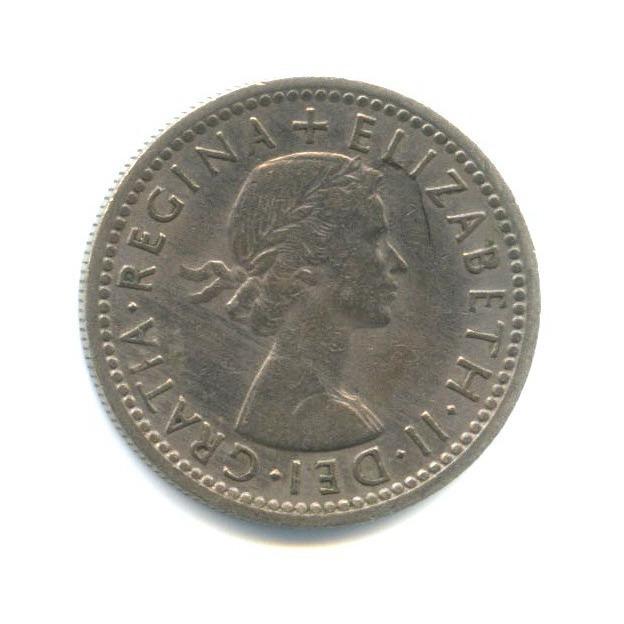 6 пенсов 1954 года (Великобритания)