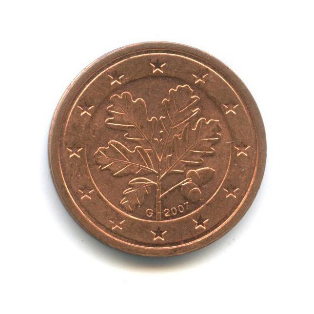 2 цента 2007 года G (Германия)