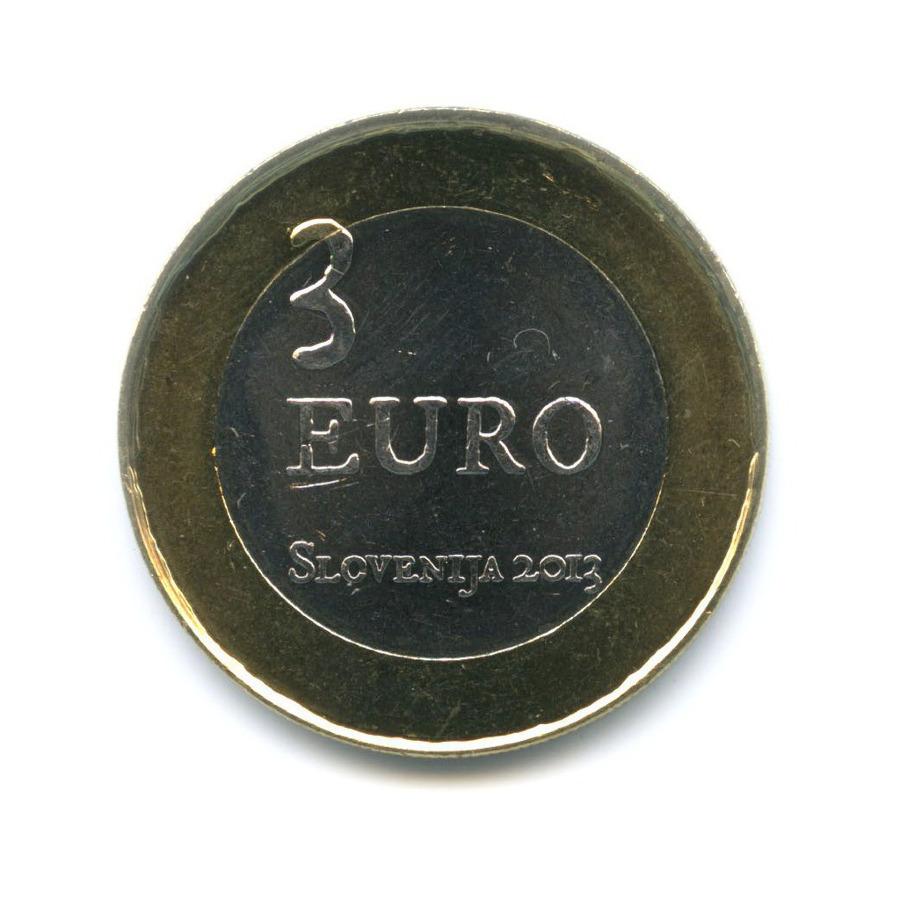3 евро — 300 лет крестьянскому восстанию в Толмино 2013 года (Словения)