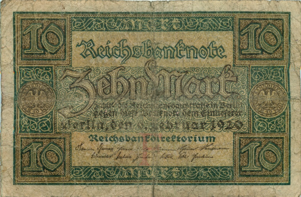 10 марок 1920 года (Германия)