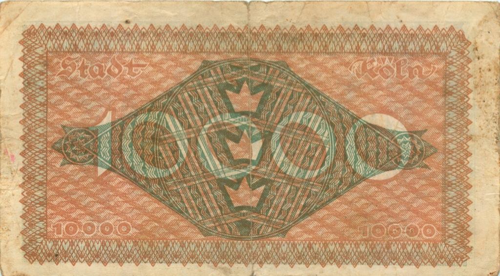 10000 марок 1923 года (Германия)
