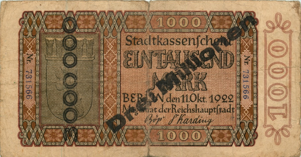 3 миллиона марок 1922 года (Германия)