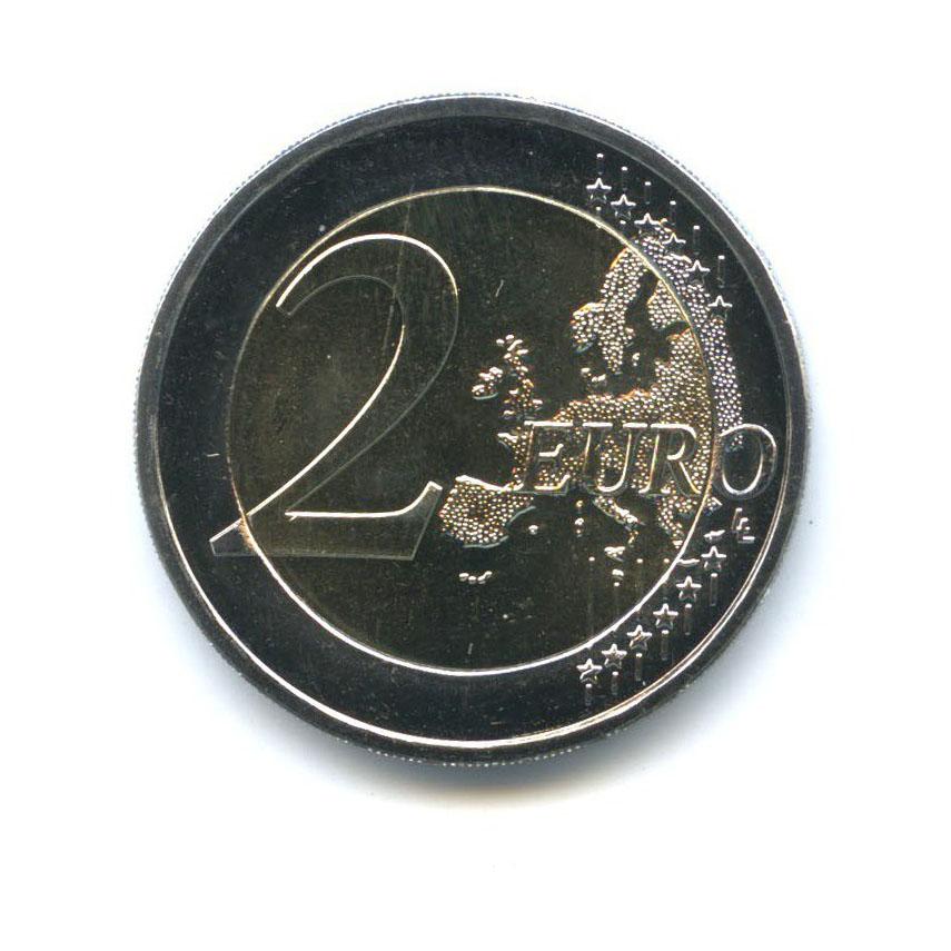2 евро - 30 лет флагу Европы 2015 года (Латвия)
