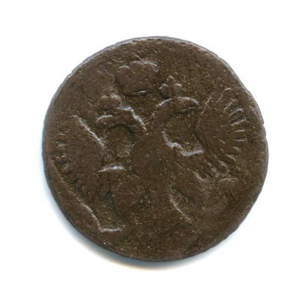 Полушка (1/4 копейки), орел образца 1744 г. 1750 года (Российская Империя)