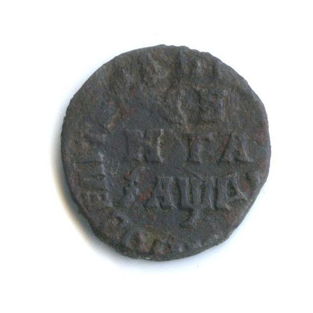 Денга (1/2 копейки) 1714 года (Российская Империя)
