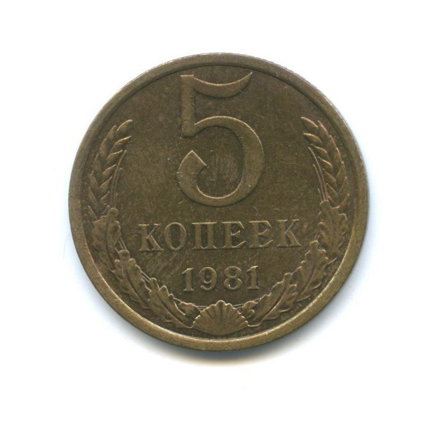 5 копеек 1981 года (СССР)