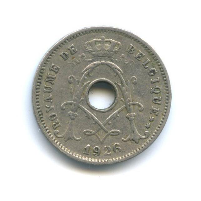 5 сантимов 1926 года (Бельгия)