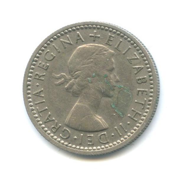 6 пенсов 1960 года (Великобритания)