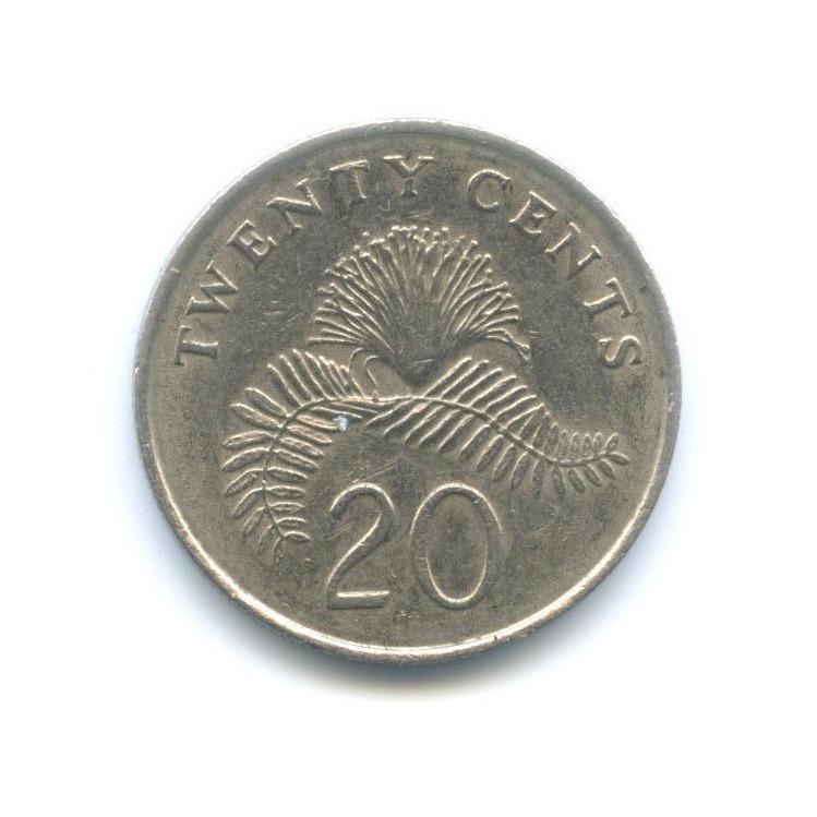 20 центов 1989 года (Сингапур)