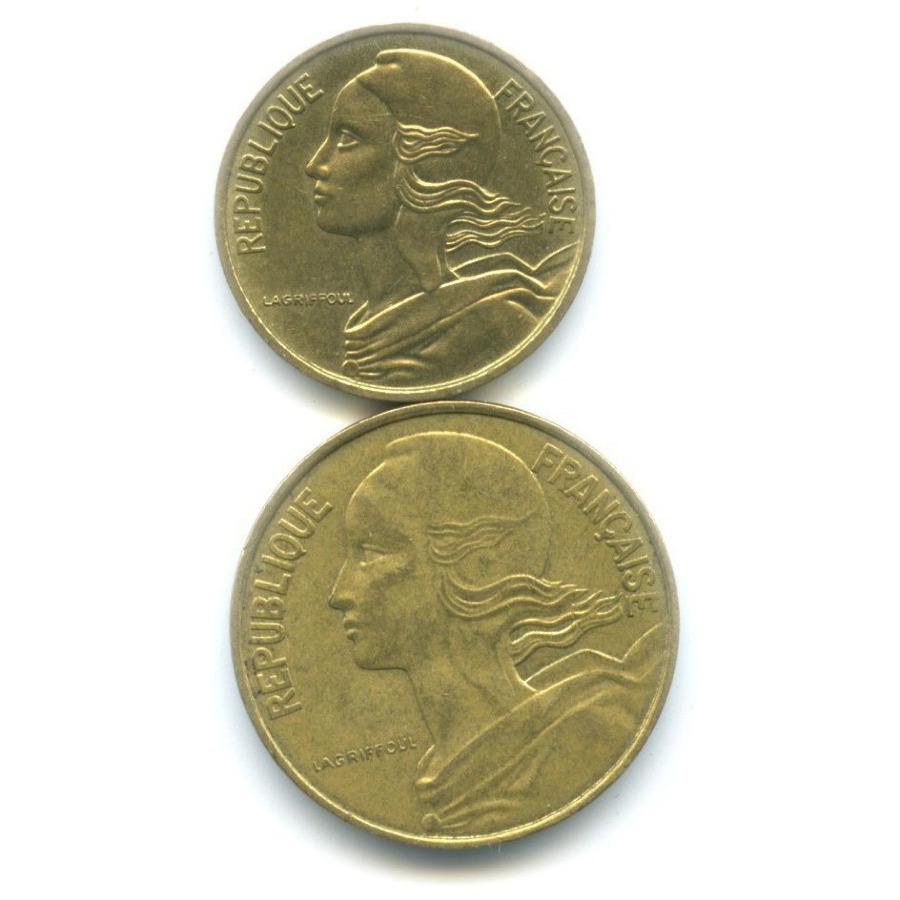 Набор монет 1971, 1988 (Франция)