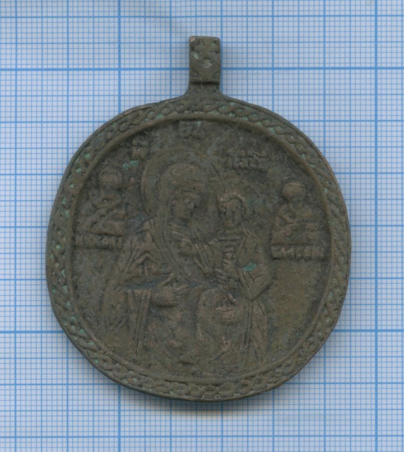 Икона нательная «Богоматерь Одигитрия»