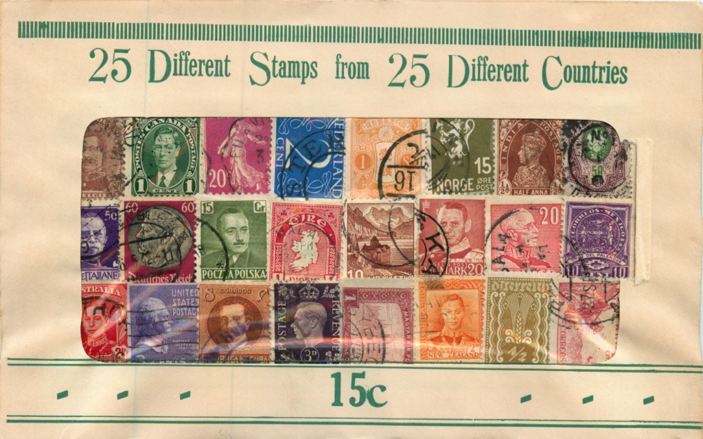Набор почтовых марок (разные страны)