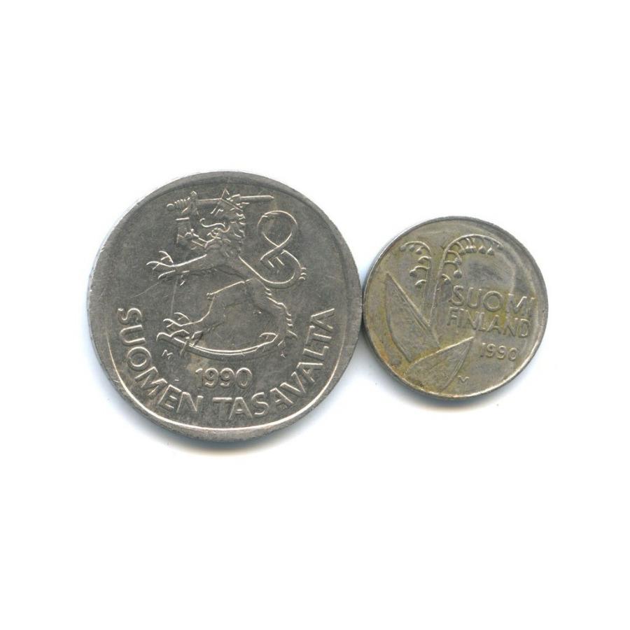 Набор монет 1990 года (Финляндия)