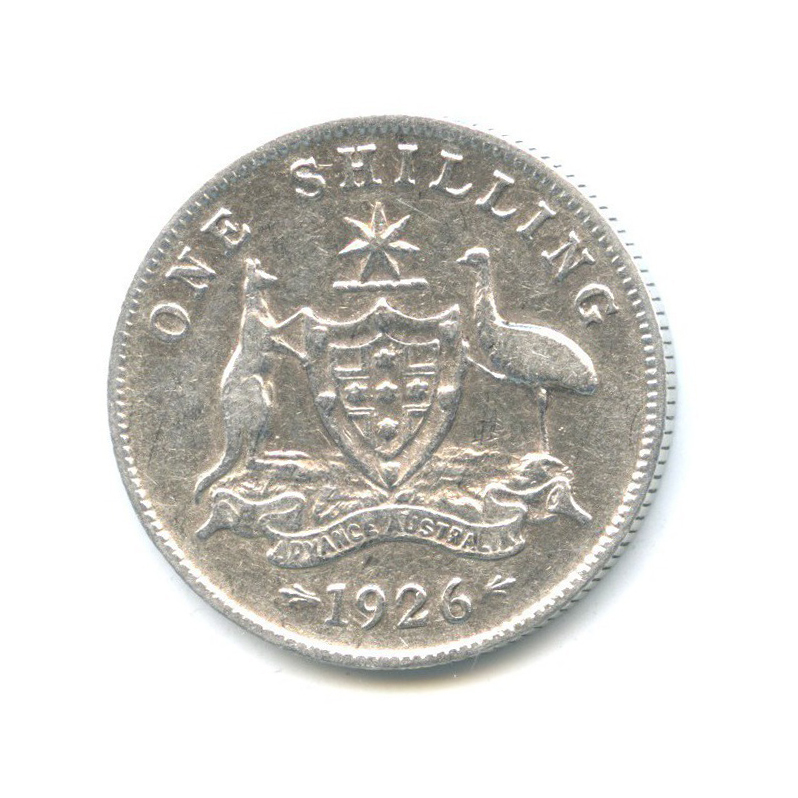 1 шиллинг 1926 года (Австралия)